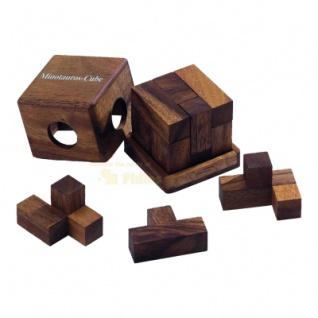 Minotauros-Cube - Denkspiel - Knobelspiel - Geduldspiel