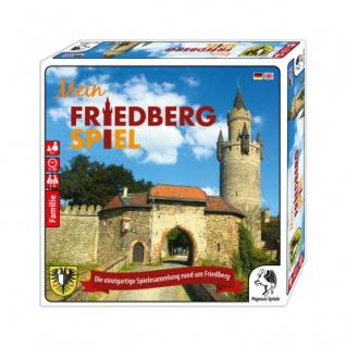 Mein Friedberg Spiel - Die einzigartige Spielesammlung rund um Friedberg