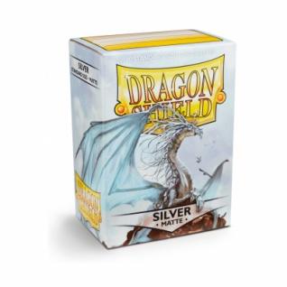 Dragon Shield Matte - Silver (100 Stück)