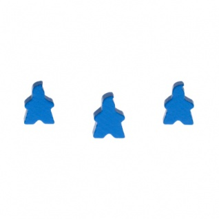 Spielfigur Fire - 14x18x10mm - blau