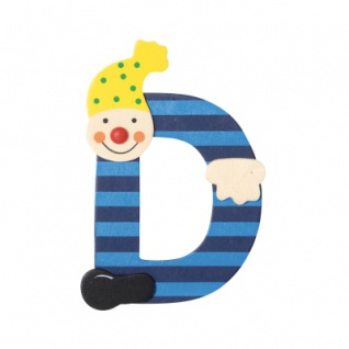 Buchstabe Clown D