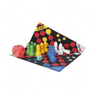 Spielteppich Riesen-Ludo mit Figuren und Tasche