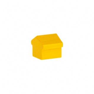 Monopoly Hotel - 15x15x15mm - gelb