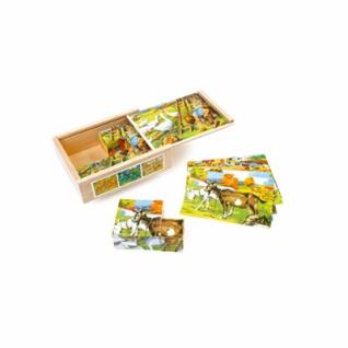 Würfelpuzzle - Landleben