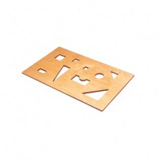 Puzzledeckel für Spielzeugtruhe - 50mm