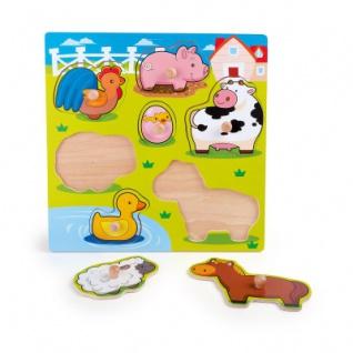 Setzpuzzle Süße Tiere