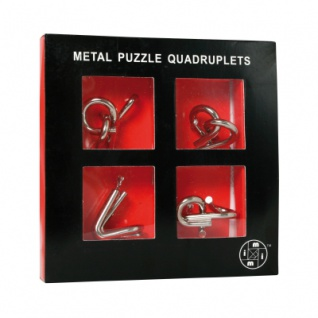 Metal Puzzle Quadruplets