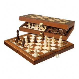 Schachspiel - Reiseschach - magnetisch - standard - Breite ca. 30 cm