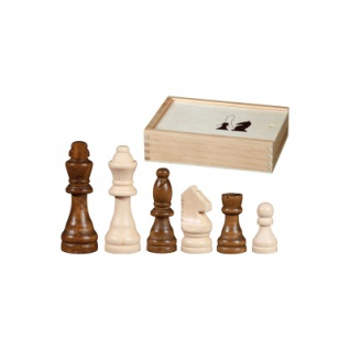 Schachfiguren - Otto I - KH 62 mm - Birke