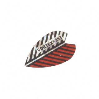 3 x Fly Vortex XS 2 - rot-silber - Aluminium-Beschichtung