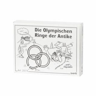 Die Olympischen Ringe der Antike
