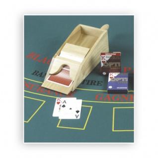 Kartenschlitten aus Holz