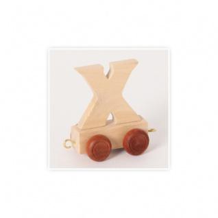 Buchstaben-Waggon X