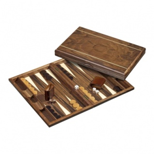 Backgammon - Kassette - Sotirios - Holz - groß