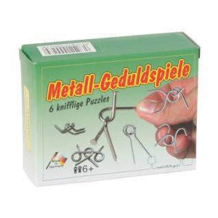 Metall-Geduldspiele