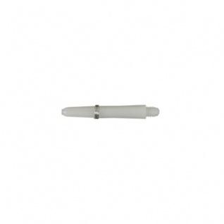 Shaft aus Nylon mit - short - 35 mm - weiß - 3 Stück