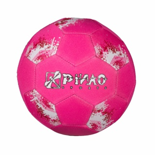 Neopren Mini-Soccer Ball - Fußball in pink oder blau