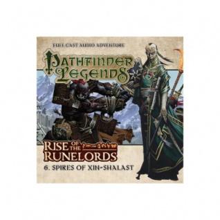 Pathfinder Legends - Spires of Xin-Shalast - Audio-CD
