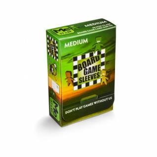 Kartenspiel-Hülle, mittel (50 Stück, 57 x 89 mm), blendfrei