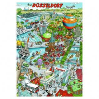 Düsseldorf - Poster - DIN A1