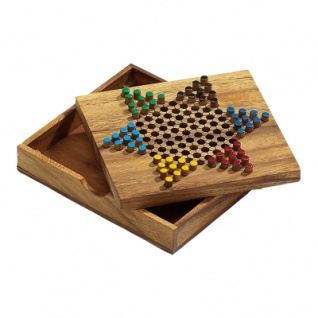 Halma Spiel - Samena-Holz