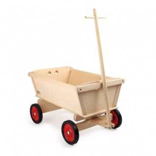 Handwagen für Kinder - Natur