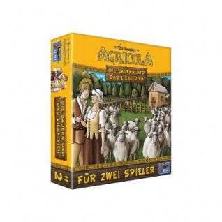 Agricola - Die Bauern und das liebe Vieh - 2 Spieler Variante - Neu