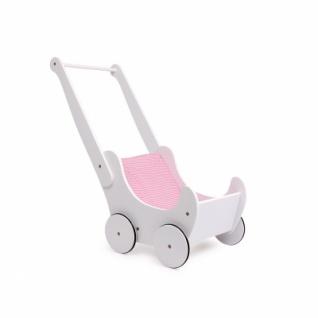Puppenwagen - weiß