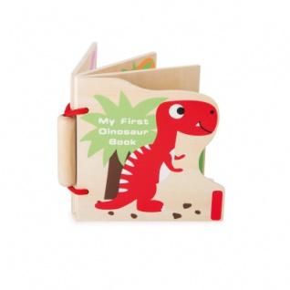 Holzbuch - Meine ersten Dinos