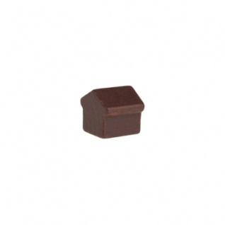 Monopoly Haus - 12x13x12mm - braun