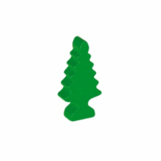 Tanne - Baum - klein - 43x21x10mm - grün