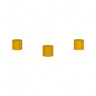Achteckstein Ocean - 10x10mm - gelb