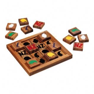 Neuseeland-Puzzle - 16 Puzzleteile - Denkspiel - Knobelspiel - Geduldspiel