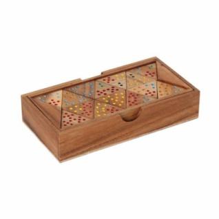 Tri Domino für 2-6 Spieler - Holz