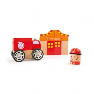 Holzbausatz Feuerwehr