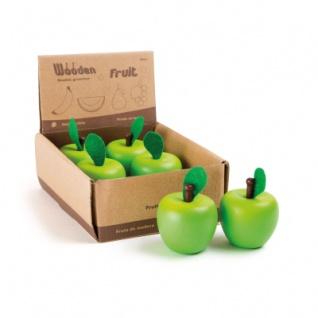 Display Apfel aus Holz