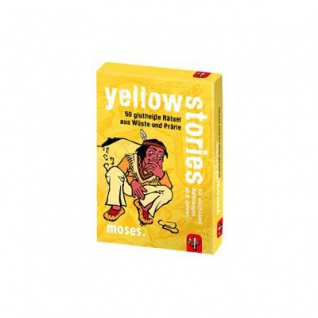 Black Stories Junior - Yellow Stories