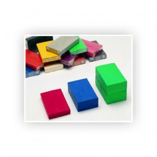 Knete - Klassik - Blockform 500 g - weiss