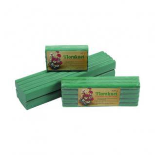 Flora-Knete Rollen-Blockform 500 g - Steckmasse für Trockenblumen und Dekoartikel
