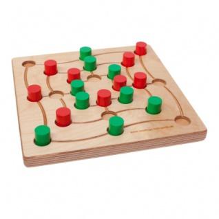Quadlino und Mühle - color - Ein Spiel fürs Leben