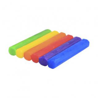 Knete - Fantasia - 6 grosse Rollen - farbig