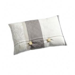 Kissen mit Knöpfen mit Federinlett - Mallorca Serie - 30 x 50 cm