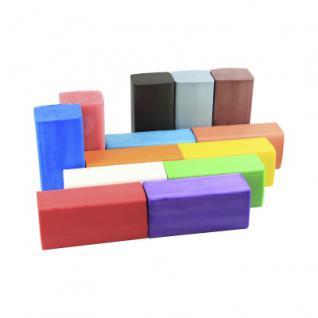 Knete - Fantasia - Blockform 500 g - rosa - Vorschau 2
