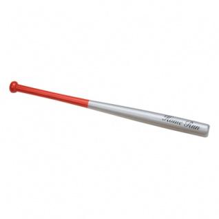 Baseballschläger - 50mm rot-silber