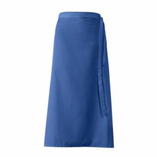 Bistro-Vorbinder - königsblau - 100x100 cm