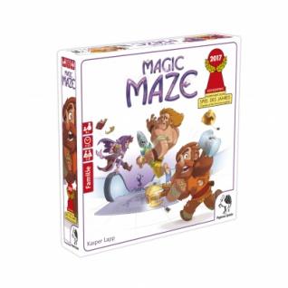 Magic Maze (deutsche Ausgabe) - Nominiert Spiel des Jahres 2017