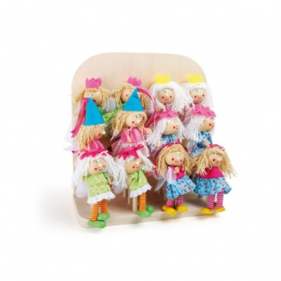 Display Fingerpuppen Prinzessin