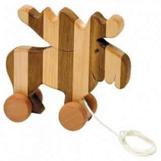 Streifentier - Holzfigur - Elch - 20 cm