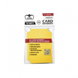 Ultimate Guard Card Divider Standard Size Gelb - 10