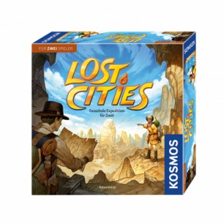 Lost Cities - Lost Cities (Spiel für 2)